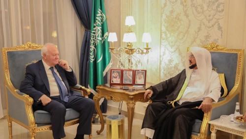 وزير الشؤون الإسلامية السعودي يستقبل المفوض السامي لمنتدى تحالف الحضارات في الأمم المتحدة