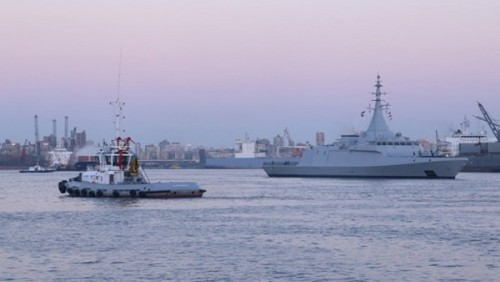 انطلاق فعاليات التدريب المشترك البحري الجوي المصري الفرنسي