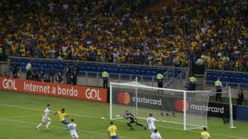 بهدف خيسوس البرازيل تتقدم على الأرجنتين في كوبا أمريكا