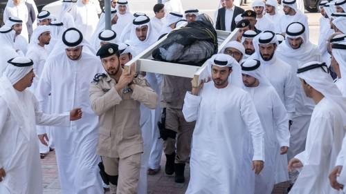 أداء صلاة الجنازة ودفن نجل حاكم الشارقة صباح اليوم