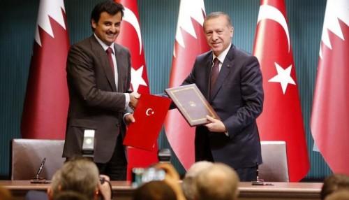 """لفضح مخططات تميم.. وسم """"قطر تحت الاحتلال التركي"""" يتصدر تويتر"""
