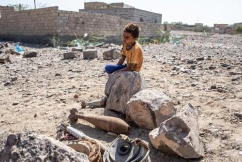 """هاشتاج """"ألغام الحوثي تحصد أرواح الأطفال"""" يغضب تويتر"""