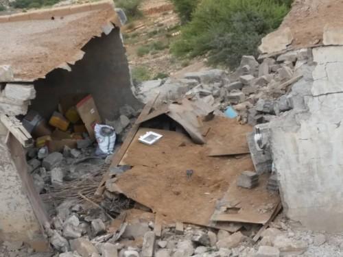 مليشيا الحوثي تقصف بعض قرى منطقة مريس شمال الضالع