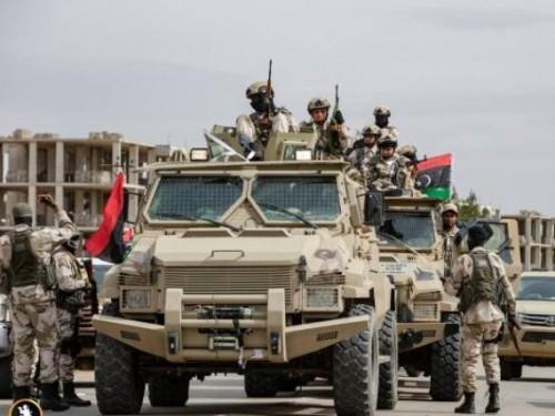 الجيش الليبي يسقط طائرة حربية قصفت مدينة ترهونة