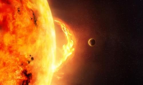 عاصفة شمسية تضرب الأرض اليوم وتؤثر على الأقمار الصناعية