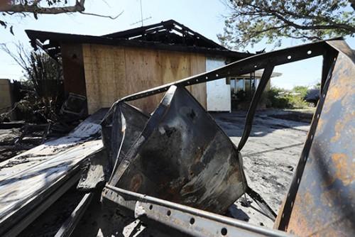 الذعر يصيب المواطنين جراء زلزال كاليفورنيا
