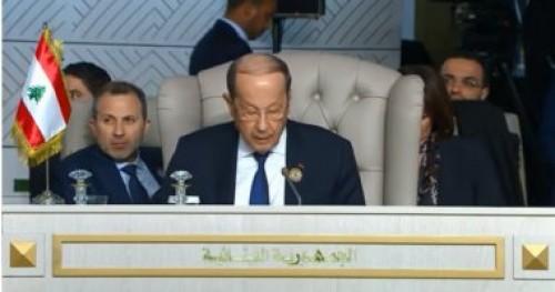 الرئيس اللبناني يبعث برسالة لشباب بلاده: احرصوا على القيم والمثل