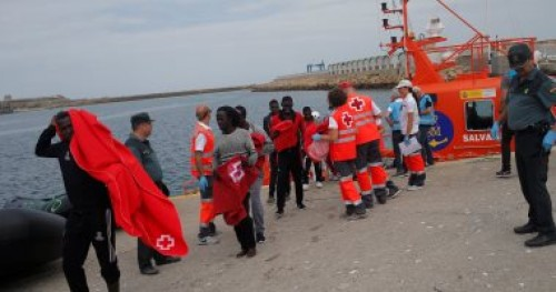 المنظمة الإنسانية الألمانية: انتشال 65 شخصًا مهاجرا أفريقيا