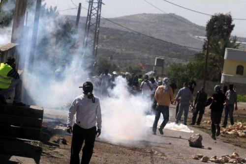 إصابة 4 فلسطينيين بالرصاص المطاطي خلال مسيرة كفر قدوم