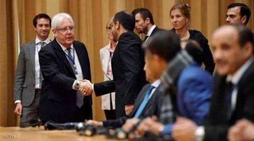 اجتماع الفرصة الأخيرة.. ماذا جرى بين جريفيث والحوثي بشأن اتفاق السويد؟