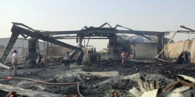 عاجل.. مليشيات الحوثي تقصف مصنع يماني في الحديدة