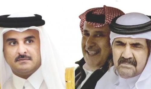 """ابن عم """" تميم """" يكشف موعد سقوط تنظيم الحمدين"""