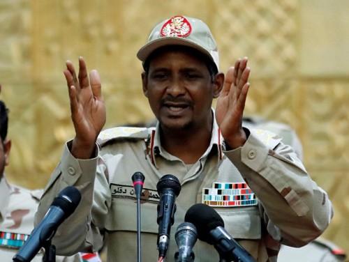 """""""حميدتي"""": يجب العمل لتحويل السودان إلى دولة قانون"""