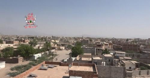 قصف جديد من مليشيا الحوثي بمختلف الأسلحة على حيس