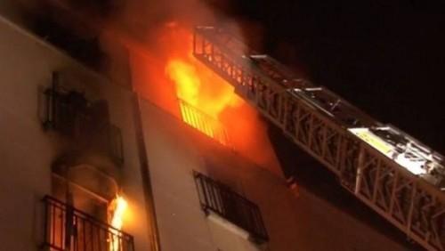 مصرع عائلة سعودية بأكملها في حريق مأساوي بالرياض