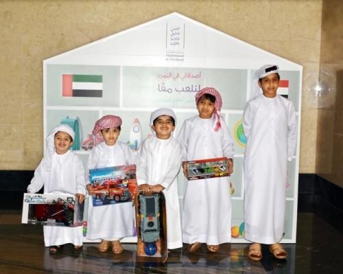 الآلاف في الإمارات يتفاعلون مع مبادرة التبرع بالألعاب لأطفال اليمن