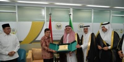 إندونيسيا.. تدشين أولى رحلات الخطوط السعودية وتوديع ٤١٠ حاج متوجهين إلى المملكة