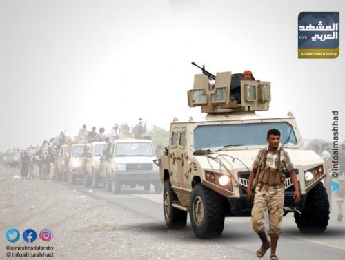 قوات اللواء الأول صاعقة تسيطر على مواقع عسكرية وتسقط عشرات المليشيات بشمال الضالع