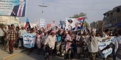 بمظاهرات حاشدة.. يوم الأرض يوحد الجنوبيين ضد الاحتلال الإخواني