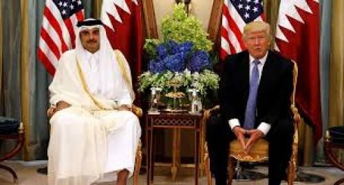 صحفي سعودي: تميم مستدعى من قبل ترامب!