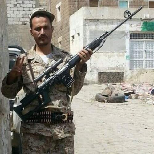استشهاد قائد الكتيبة الأولى بالحزام الأمني في معارك مع الحوثيين