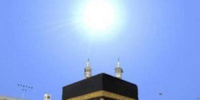 السعودية.. تعامد الشمس على الكعبة المشرفة الثلاثاء المقبل