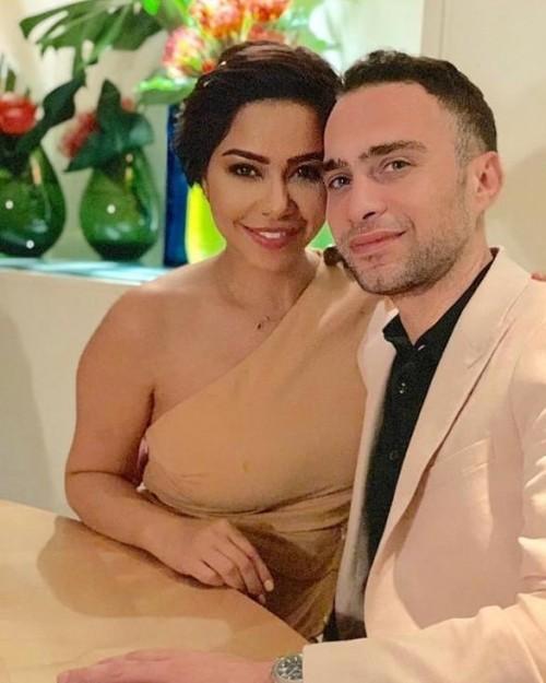 بعد شائعة حملها.. شيرين تنشر صورة رومانسية مع زوجها حسام حبيب