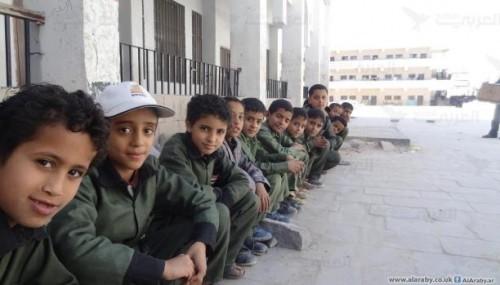 مليشيا الحوثي تكثف استخدام المدارس للتعبئة الطائفية
