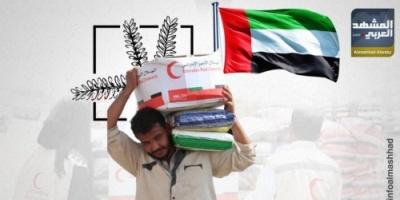 الهلال الإماراتي يواصل مساعدة أسر الشهداء في شبوة (إنفوجراف)