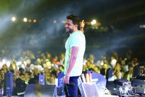 بعد حفله بالمملكة.. حماقي يوجه الشكر للجمهور السعودي