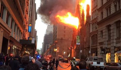 أمريكا: حريق وراء انقطاع الكهرباء عن سكان نيويورك