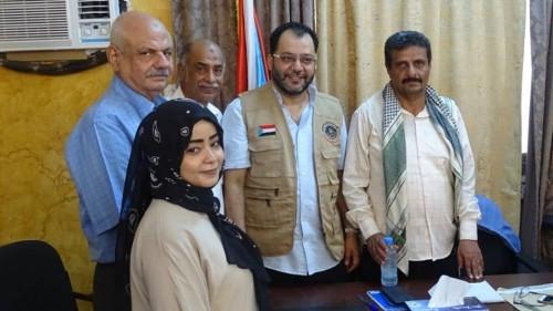 دعم جديد من المجلس الانتقالي لمستشفى النصر العام بالضالع (تفاصيل)