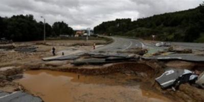 ارتفاع حصيلة قتلى الفيضانات والانهيارات الأرضية بنيبال إلى 55 شخصا