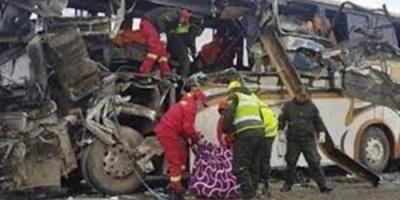 وفاة 6 أشخاص نتيجة انقلاب حافلة ركاب بجمهورية بشكيريا وسط روسيا