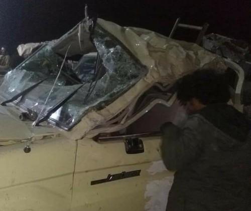 استشهاد وإصابة 5 جنود في حادث سير بجسر الحسيني بلحج