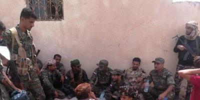 تفاصيل زيارة قائد الحزام الأمني بأبين لجبهات القتال بالضالع