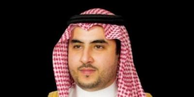 """خلال اجتماعه مع """"غريفيث""""..خالد بن سلمان يؤكد دعم السعودية للحل السياسي باليمن"""