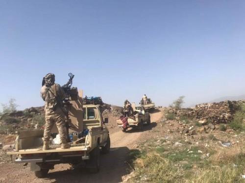 القوات الجنوبية تصد هجوماً حوثياً في جبهة شخب شمالي الضالع