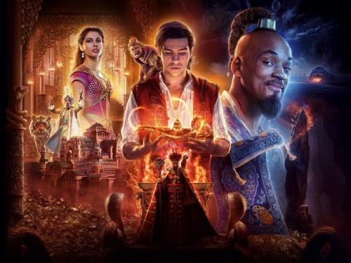 إيرادات فيلم Aladdin تصل لـ 960 مليون دولار حول العالم
