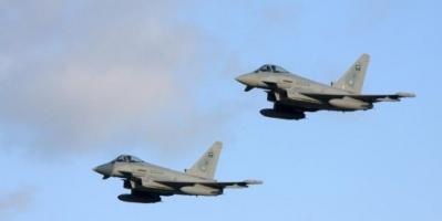 مقاتلات التحالف تقصف منصات لإطلاق الطائرات المسيرة بصنعاء