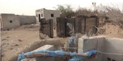 دمار وخراب وقتل.. هذا ما خلفته المليشيات في إحدى قرى الدريهمي (فيديو)