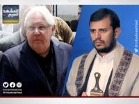 """تفاصيل لقاء """"غريفيث"""" وزعيم مليشيا الحوثي"""