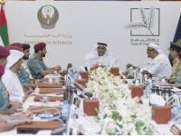 الشيخ سيف بن زايد يترأس اجتماع السعادة والإيجابية بوزارة الداخلية