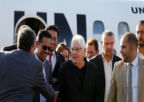 غريفيث يغادر صنعاء بعد لقاءات مع قيادات حوثية