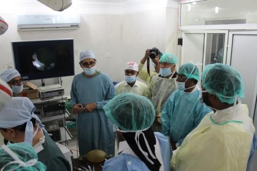 استفادة 450 حالة من مخيم الألطاف الصحي بتريم