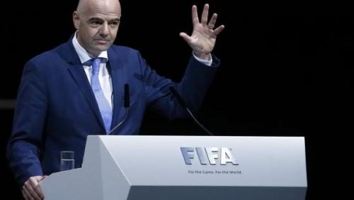"""رئيس """"الفيفا"""" يصل القاهرة لحضور كونجرس """"الكاف"""""""