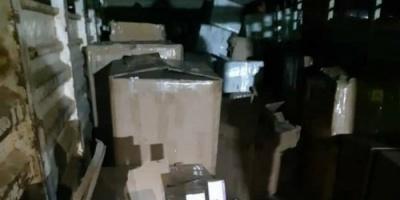 الحزام الأمني بعدن يضبط شاحنة محملة بكمية من الأدوية المهربة (صورة)