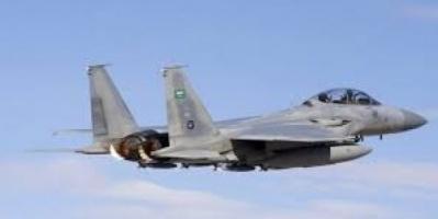 طيران التحالف يقصف مواقع المليشيات في صعدة