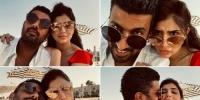 مي عمر تنشر صورها بصحبة زوجها محمد سامي أثناء إجازتهما الصيفية