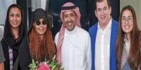 جانيت جاكسون تصل السعودية لإحياء حفلها بموسم جدة